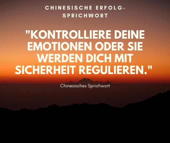 Chinesisch Emotion Sprichwort e1603020871325