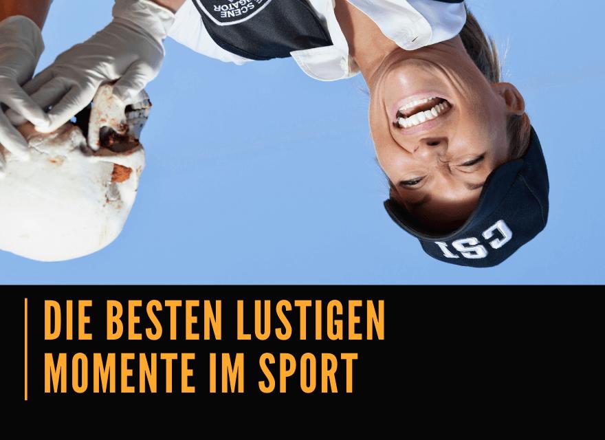Die besten lustigen Momente im Sport