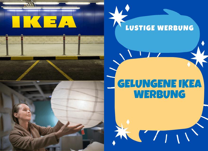 Gelungene IKEA Werbung