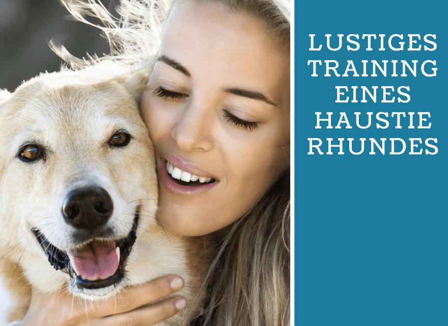 Lustiges-Training-eines-Haustierhundes