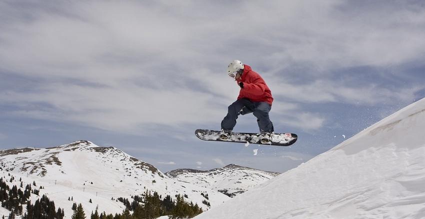 Snowboard pur- 100 Prozent geil