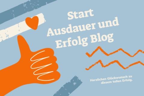 Start Ausdauer und Erfolg Blog